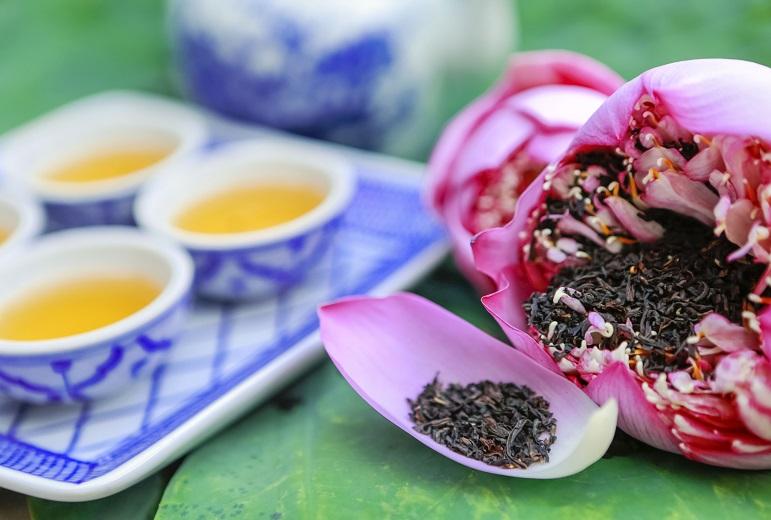 trà sen tây hồ